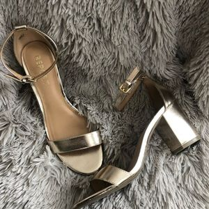 Report Ankle Strap Block Heels